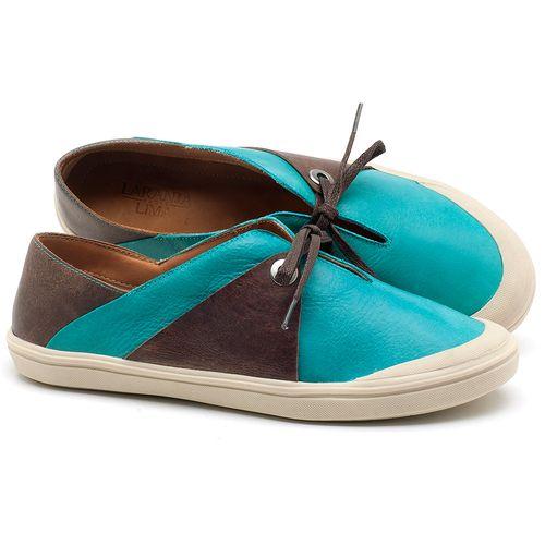 Laranja_Lima_Shoes_Sapatos_Femininos_Tenis_Cano_Baixo_em_Couro_Azul_-_Codigo_-_56183_1