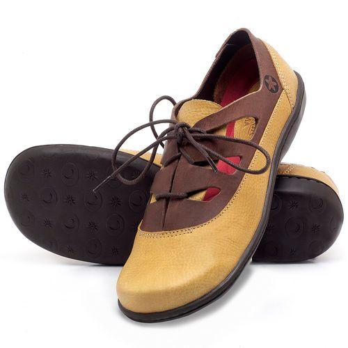 Laranja_Lima_Shoes_Sapatos_Femininos_Flat_Shoes_em_Couro_Amarelo_-_Codigo_-_56189_2