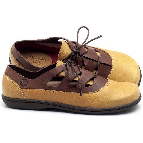 Laranja_Lima_Shoes_Sapatos_Femininos_Flat_Shoes_em_Couro_Amarelo_-_Codigo_-_56189_1