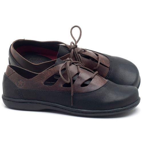 Laranja_Lima_Shoes_Sapatos_Femininos_Flat_Shoes_em_Couro_Preto_-_Codigo_-_56189_1