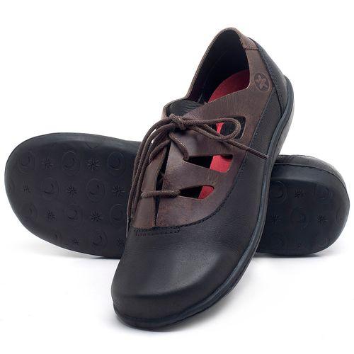 Laranja_Lima_Shoes_Sapatos_Femininos_Flat_Shoes_em_Couro_Preto_-_Codigo_-_56189_2