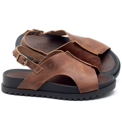 Laranja_Lima_Shoes_Sapatos_Femininos_Sandalia_Rasteira_Flat_em_Couro_Caramelo_-_Codigo_-_56191_1