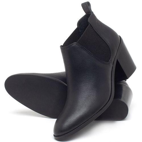Laranja_Lima_Shoes_Sapatos_Femininos_Bota_Cano_Curto_Salto_de_75_cm_em_Couro_Preto_-_Codigo_-_56193_2