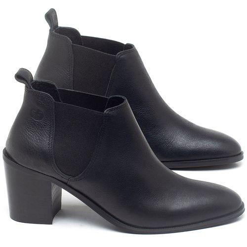 Laranja_Lima_Shoes_Sapatos_Femininos_Bota_Cano_Curto_Salto_de_75_cm_em_Couro_Preto_-_Codigo_-_56193_1