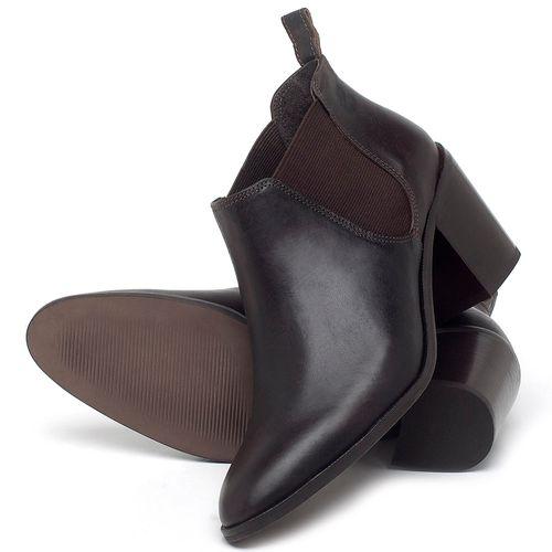 Laranja_Lima_Shoes_Sapatos_Femininos_Bota_Cano_Curto_Salto_de_75_cm_em_Couro_Cafe_-_Codigo_-_56193_2