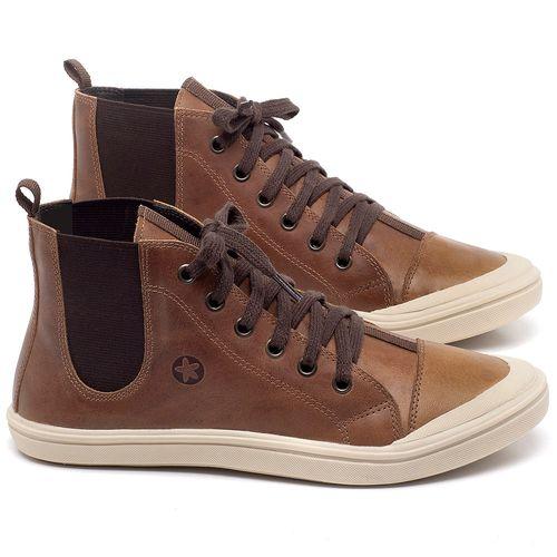 Laranja_Lima_Shoes_Sapatos_Femininos_Tenis_Cano_Alto_em_Couro_Caramelo_-_Codigo_-_56197_1