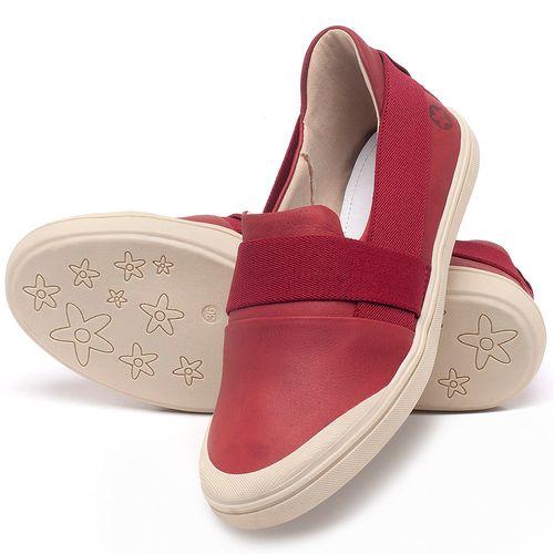 Laranja_Lima_Shoes_Sapatos_Femininos_Tenis_Cano_Baixo_em_Couro_Vermelho_-_Codigo_-_56198_2