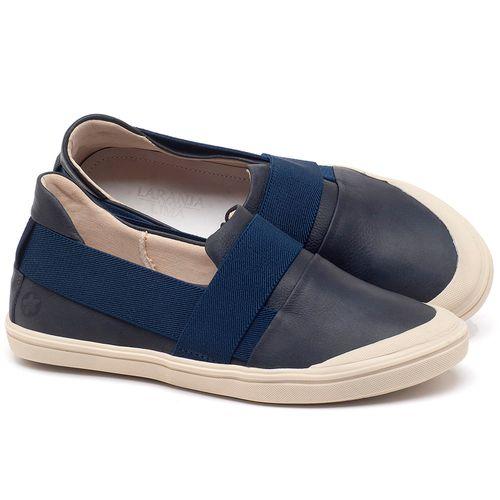 Laranja_Lima_Shoes_Sapatos_Femininos_Tenis_Cano_Baixo_em_Couro_Azul_-_Codigo_-_56198_1