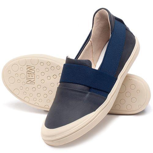Laranja_Lima_Shoes_Sapatos_Femininos_Tenis_Cano_Baixo_em_Couro_Azul_-_Codigo_-_56198_2