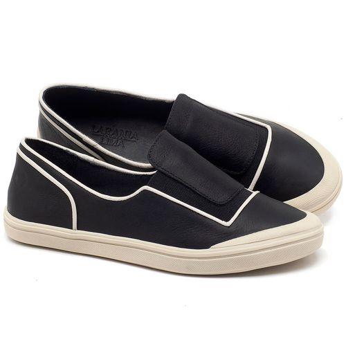Laranja_Lima_Shoes_Sapatos_Femininos_Tenis_Cano_Baixo_em_Couro_Preto_-_Codigo_-_56199_1
