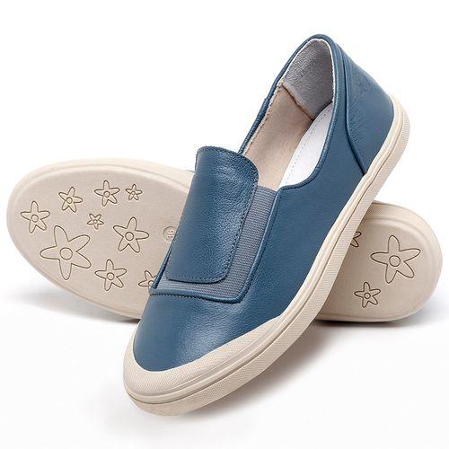 Laranja_Lima_Shoes_Sapatos_Femininos_Tenis_Cano_Baixo_em_Couro_Azul_-_Codigo_-_56199_2
