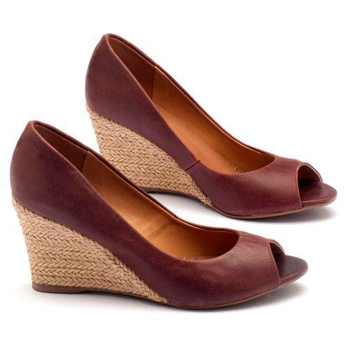 Laranja_Lima_Shoes_Sapatos_Femininos_Peep_Toe_Laranja_Lima_Shoes_Salto_de_8_cm_em_Couro_Bordo_-_Codigo_-_9380_1