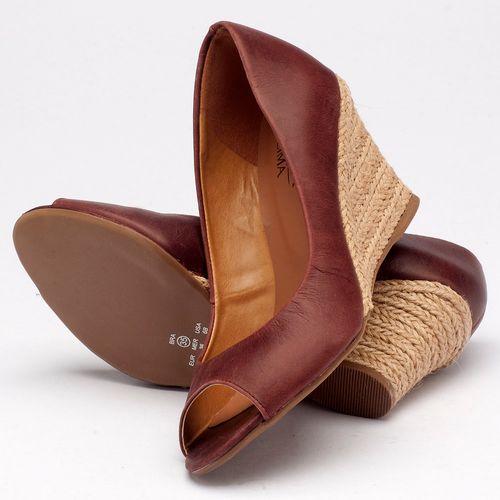 Laranja_Lima_Shoes_Sapatos_Femininos_Peep_Toe_Laranja_Lima_Shoes_Salto_de_8_cm_em_Couro_Bordo_-_Codigo_-_9380_2