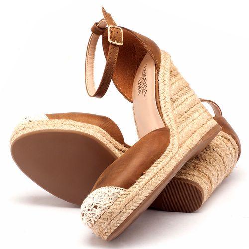 Laranja_Lima_Shoes_Sapatos_Femininos_Espadrille_Laranja_Lima_Shoes_Salto_de_9_cm_em_Couro_Caramelo_-_Codigo_-_9391_2