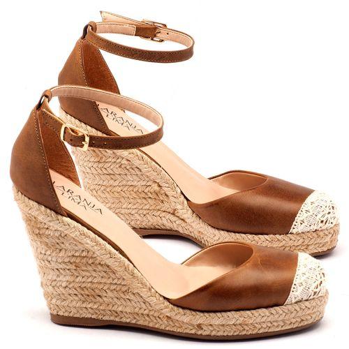 Laranja_Lima_Shoes_Sapatos_Femininos_Espadrille_Laranja_Lima_Shoes_Salto_de_9_cm_em_Couro_Caramelo_-_Codigo_-_9391_1