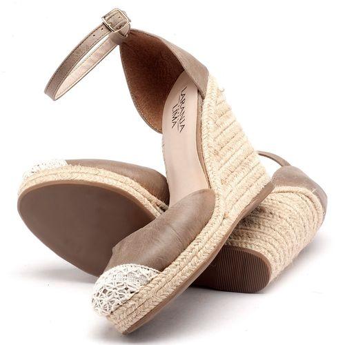 Laranja_Lima_Shoes_Sapatos_Femininos_Espadrille_Laranja_Lima_Shoes_Salto_de_9_cm_em_Couro_Bege_-_Codigo_-_9391_2