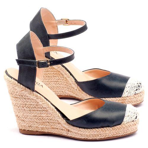 Laranja_Lima_Shoes_Sapatos_Femininos_Espadrille_Laranja_Lima_Shoes_Salto_de_9_cm_em_Couro_Marinho_-_Codigo_-_9392_1