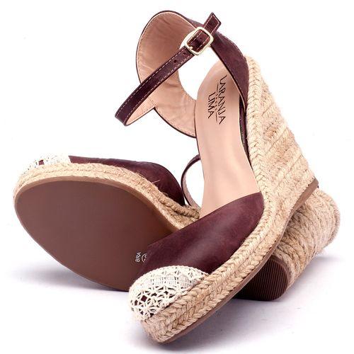 Laranja_Lima_Shoes_Sapatos_Femininos_Espadrille_Laranja_Lima_Shoes_Salto_de_9_cm_em_Couro_Bordo_-_Codigo_-_9392_2