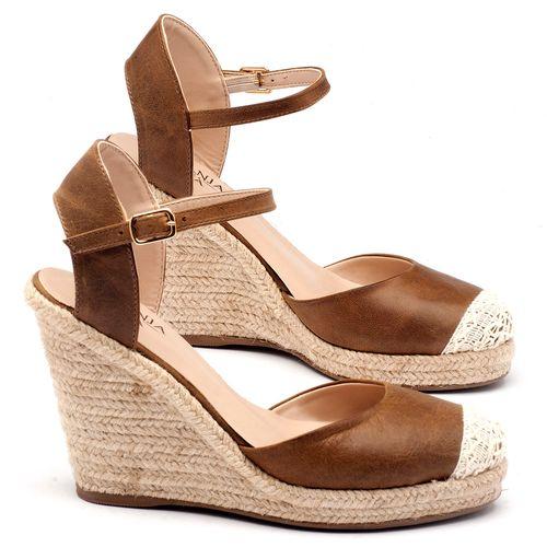 Laranja_Lima_Shoes_Sapatos_Femininos_Espadrille_Laranja_Lima_Shoes_Salto_de_9_cm_em_Couro_Caramelo_-_Codigo_-_9392_1