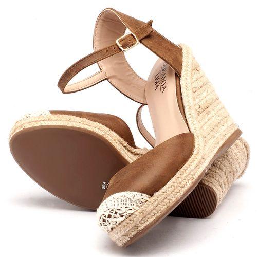 Laranja_Lima_Shoes_Sapatos_Femininos_Espadrille_Laranja_Lima_Shoes_Salto_de_9_cm_em_Couro_Caramelo_-_Codigo_-_9392_2