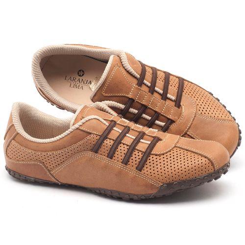 Laranja_Lima_Shoes_Sapatos_Femininos_Tenis_Cano_Baixo_em_Couro_Caramelo_-_Codigo_-_9409_1