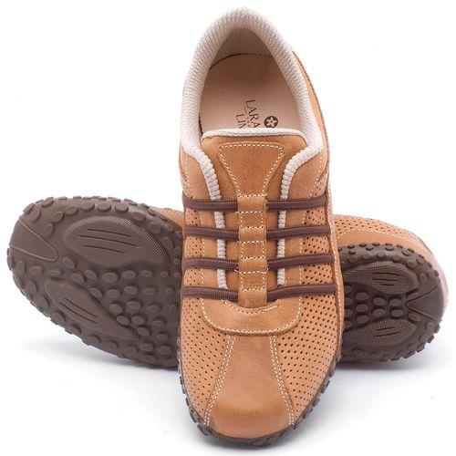 Laranja_Lima_Shoes_Sapatos_Femininos_Tenis_Cano_Baixo_em_Couro_Caramelo_-_Codigo_-_9409_2