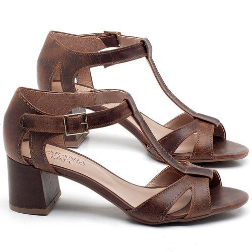 Laranja_Lima_Shoes_Sapatos_Femininos_Sandalia_Laranja_Lima_Shoes_Classic_Salto_de_4_cm_em_Couro_Marrom_-_Codigo_-_9412_1