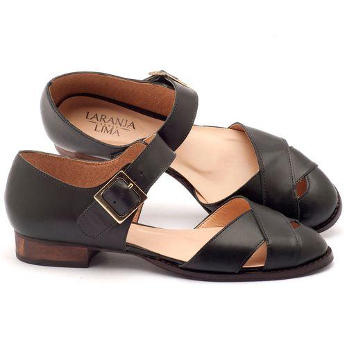 Laranja_Lima_Shoes_Sapatos_Femininos_Sandalia_Laranja_Lima_Shoes_Classic_Salto_de_2_cm_em_Couro_Preto_-_Codigo_-_9424_1