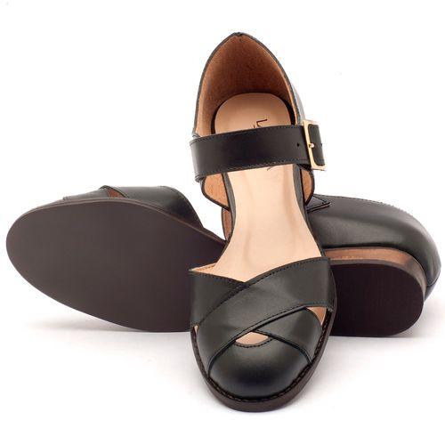 Laranja_Lima_Shoes_Sapatos_Femininos_Sandalia_Laranja_Lima_Shoes_Classic_Salto_de_2_cm_em_Couro_Preto_-_Codigo_-_9424_2