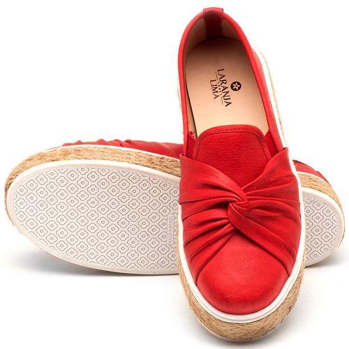 Laranja_Lima_Shoes_Sapatos_Femininos_Tenis_Cano_Baixo_em_Couro_Vermelho_-_Codigo_-_9429_2