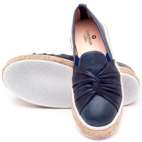 Laranja_Lima_Shoes_Sapatos_Femininos_Tenis_Cano_Baixo_em_Couro_Marinho_-_Codigo_-_9429_2