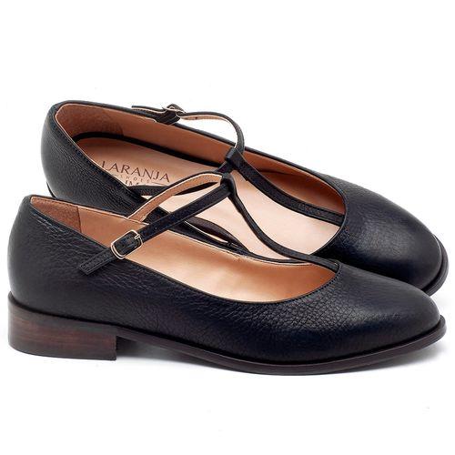 Laranja_Lima_Shoes_Sapatos_Femininos_Oxford_Laranja_Lima_Shoes_Salto_de_2_cm_em_Couro_Preto_-_Codigo_-_9434_1