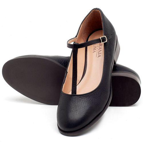 Laranja_Lima_Shoes_Sapatos_Femininos_Oxford_Laranja_Lima_Shoes_Salto_de_2_cm_em_Couro_Preto_-_Codigo_-_9434_2