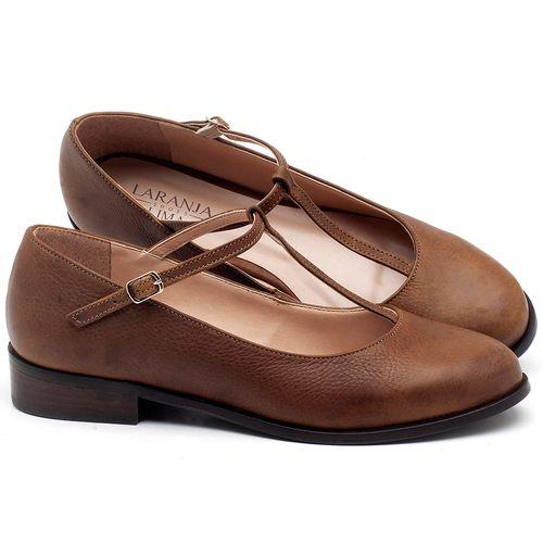 Laranja_Lima_Shoes_Sapatos_Femininos_Oxford_Laranja_Lima_Shoes_Salto_de_2_cm_em_Couro_Caramelo_-_Codigo_-_9434_1