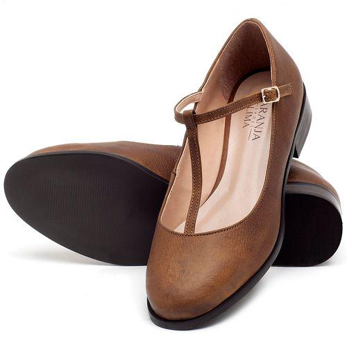 Laranja_Lima_Shoes_Sapatos_Femininos_Oxford_Laranja_Lima_Shoes_Salto_de_2_cm_em_Couro_Caramelo_-_Codigo_-_9434_2