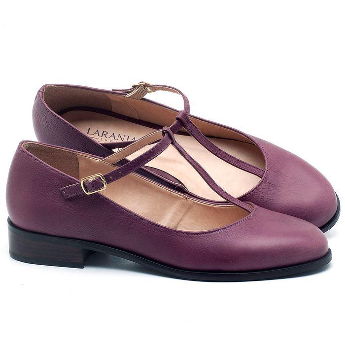 Laranja_Lima_Shoes_Sapatos_Femininos_Oxford_Laranja_Lima_Shoes_Salto_de_2_cm_em_Couro_Roxo_-_Codigo_-_9434_1