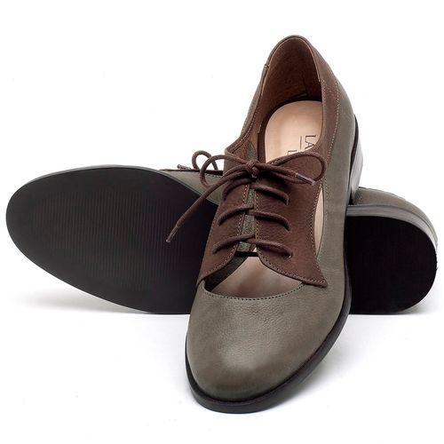 Laranja_Lima_Shoes_Sapatos_Femininos_Oxford_Laranja_Lima_Shoes_Salto_de_2_cm_em_Couro_Verde_-_Codigo_-_9435_2