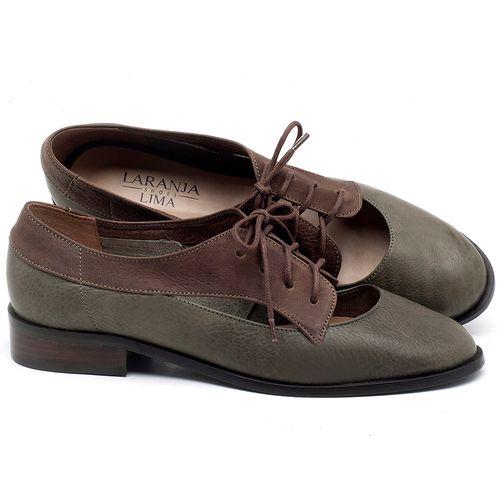Laranja_Lima_Shoes_Sapatos_Femininos_Oxford_Laranja_Lima_Shoes_Salto_de_2_cm_em_Couro_Verde_-_Codigo_-_9435_1