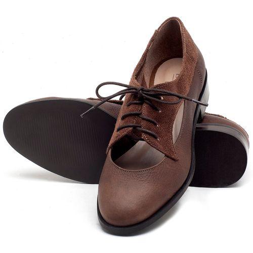 Laranja_Lima_Shoes_Sapatos_Femininos_Oxford_Laranja_Lima_Shoes_Salto_de_2_cm_em_Couro_Marrom_-_Codigo_-_9435_2