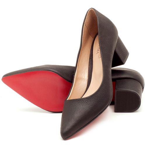 Laranja_Lima_Shoes_Sapatos_Femininos_Scarpin_Salto_Medio_de_5_cm_em_Material_Misto_Preto_-_Codigo_-_9437_2