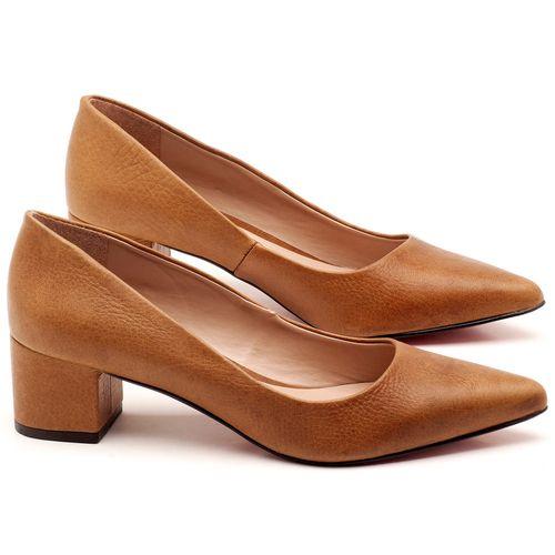Laranja_Lima_Shoes_Sapatos_Femininos_Scarpin_Salto_Medio_de_5_cm_em_Material_Misto_Caramelo_-_Codigo_-_9437_1