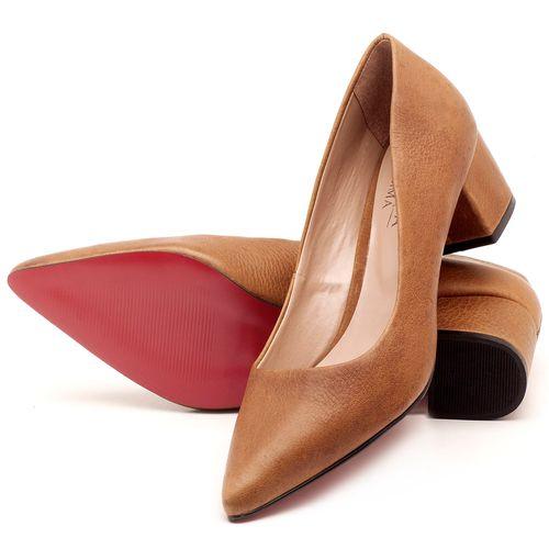 Laranja_Lima_Shoes_Sapatos_Femininos_Scarpin_Salto_Medio_de_5_cm_em_Material_Misto_Caramelo_-_Codigo_-_9437_2