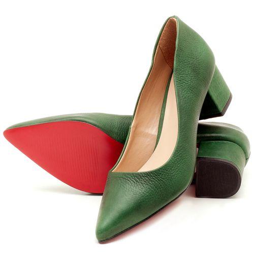 Laranja_Lima_Shoes_Sapatos_Femininos_Scarpin_Salto_Medio_de_5_cm_em_Material_Misto_Verde_-_Codigo_-_9437_2
