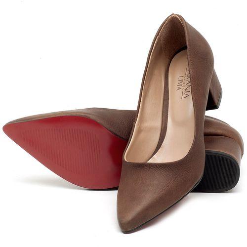 Laranja_Lima_Shoes_Sapatos_Femininos_Scarpin_Salto_Medio_de_5_cm_em_Material_Misto_Marrom_-_Codigo_-_9437_2