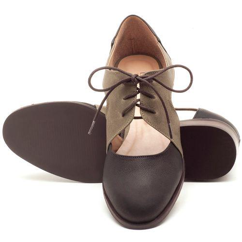Laranja_Lima_Shoes_Sapatos_Femininos_Oxford_Laranja_Lima_Shoes_Salto_de_2_cm_em_Couro_Bicolor_-_Codigo_-_9438_2