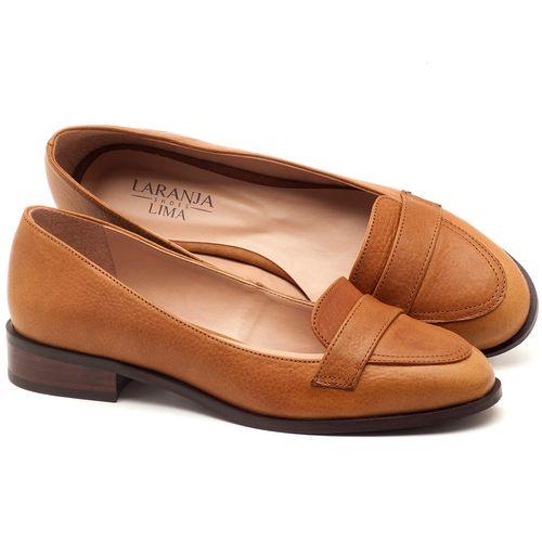 Laranja_Lima_Shoes_Sapatos_Femininos_Oxford_Laranja_Lima_Shoes_Salto_de_2_cm_em_Couro_Caramelo_-_Codigo_-_9439_1