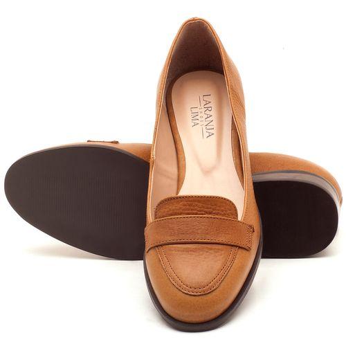 Laranja_Lima_Shoes_Sapatos_Femininos_Oxford_Laranja_Lima_Shoes_Salto_de_2_cm_em_Couro_Caramelo_-_Codigo_-_9439_2