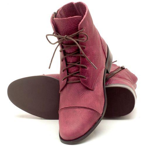 Laranja_Lima_Shoes_Sapatos_Femininos_Bota_Cano_Curto_Salto_de_2_cm_em_Couro_Vinho_-_Codigo_-_9440_2