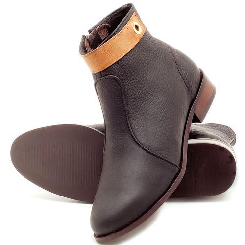 Laranja_Lima_Shoes_Sapatos_Femininos_Bota_Cano_Curto_Salto_de_2_cm_em_Couro_Preto_-_Codigo_-_9441_2