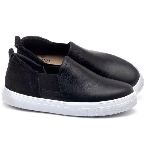Laranja_Lima_Shoes_Sapatos_Femininos_Tenis_Cano_Baixo_em_Couro_Preto_-_Codigo_-_9447_1